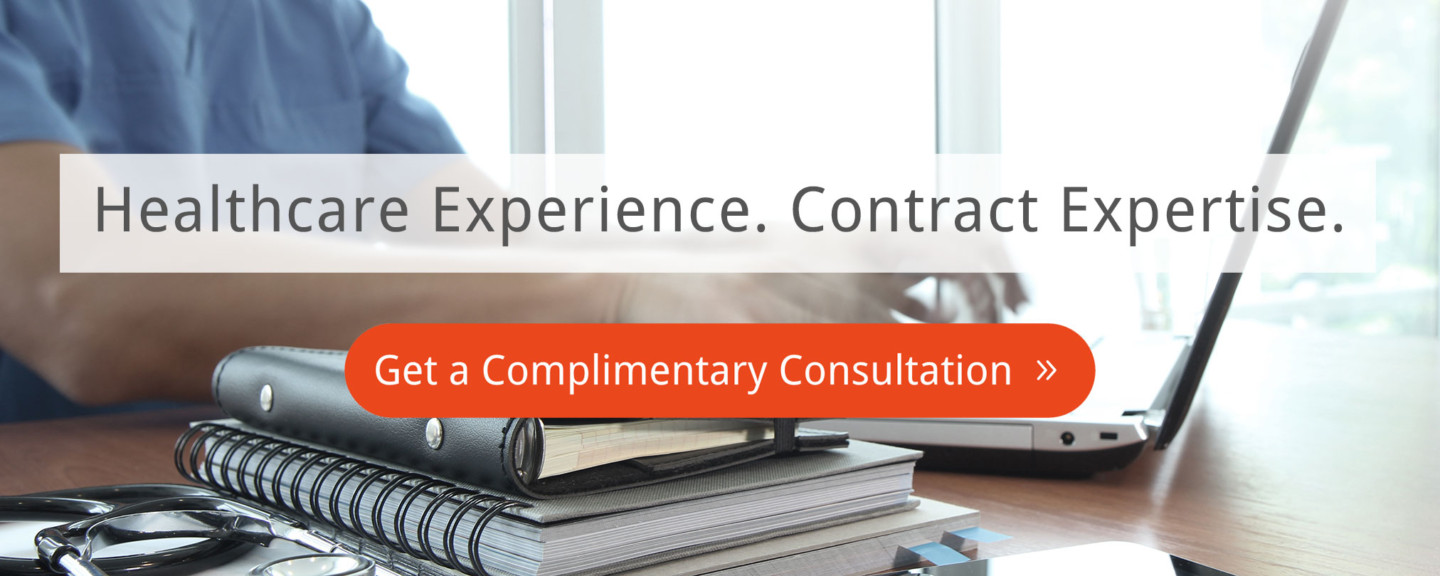 Redline Healthcare Experience Contract Expertise